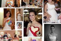 Novias Trocitos / Nuestras novias trocitos son las novias más especiales... nos envían fotos junto a sus trocitos para que veamos lo importantes que fueron en su día más especial