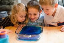 """What's Inside """"Ocean Commotion"""" / Dive into the deep ocean and discover plant life and sea creatures big and small. Your children will explore a mysterious shipwreck, count the treasures from a sunken chest and experiment with what sinks and floats. They will pretend to swim inside ocean caves as they explore this exciting world of water. - See more at: http://www.mothergoosetime.com/monthly-themes/ocean-commotion/#sthash.fONyIRUf.dpuf"""