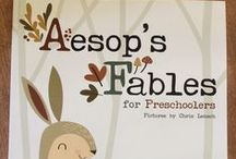 """What's Inside """"Fables and Folktales"""" / Your children's imaginations will take flight as they listen to fables and folktales that have been shared for many generations. They will create art, write their own endings and play games that put them inside their favorite stories. - See more at: http://www.mothergoosetime.com/monthly-themes/fables-and-folktales"""