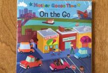 "What's Inside ""On the Go"" / Hop on your tricycle and pedal on down the road. This experience will keep your mind and body moving. Learn about traffic signs, maps and how to fix cars in your own make-believe service station. Go by road, then by sky. Float up in a hot air balloon, then land on a tugboat in the middle of the sea. When you think you can't go any further, think ""I can"" and ride a little engine that could. - See more at: http://www.mothergoosetime.com/monthly-themes/on-the-go"