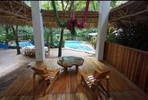 Beach Houses in Santa Teresa, Costa Rica / Situated on four acres of unspoiled tropical beach, you will find beautiful swimming areas and also outcroppings of rock where natural tide pools form. / by Hotel Tropico Latino