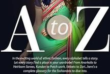 Utsav Alphabets / We go from A to Z and bring the Ethnic Lifestyle in you!