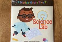 """What's Inside """"Science Lab"""" / Children learn that science is everywhere as they do hands-on experiments and activities every day in their own science labs.  Discover what happens when you mix to substances, explore the mysteries of sound, light, forces, electricity, magnets and resistance. Go on a journey to explore the world around you. - See more at: http://www.mothergoosetime.com/monthly-themes/science-lab-august2016"""