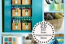 Organization / by Angela @ Cottage Magpie