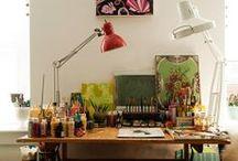 Craft Studio Ideas / by Angela @ Cottage Magpie