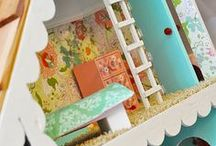 Dolls & Dollhouses / by Angela @ Cottage Magpie