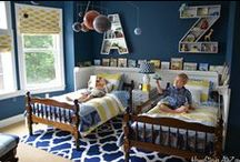 Rocket Boy's Room Ideas / by Angela @ Cottage Magpie