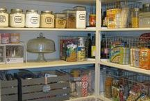 Pantry & Laundry Room Ideas / by Angela @ Cottage Magpie