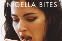 "Nigella Bites / ""Even if themes, the focus of these chapters, are varied, what remains constant, and so what links them, is taste. I don't mean taste in a food-snobbish, status sense (please, I am just not interested) but the tendency towards certain techniques (for me, that means easy ones) and certain ingredients."" / by Nigella Lawson"