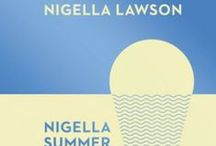 "Nigella Summer / ""Summer food, even when eaten in deepest winter, contains within it the idea of simple cooking. But the best recipes are never blueprints, only ideas hungrily mooted. The ones in this book have come to me the way they always do, plundered from friends, from family, grown out of an idea of what might go with what."""
