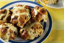 Easter Recipes / A time of year, that is perfect for cooking and baking up a storm, not forgetting all the chocolate to be eaten! From old favourites like Hot Cross Buns, to baking a lovely Easter Egg Nest Cake or Apple & Almond Cake for Passover.