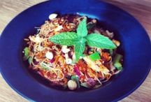 Vietnamese Chicken and Mint Salad Cookalong / This month's Cookalong is a simple, summery dish that is absolutely addictive, our Vietnamese Chicken and Mint Salad.   Please enjoy making this dish, photographing and uploading it, and we look forward to seeing your entries and your comments, especially if you are pleased with any additions or personalisations you have come up with.   As ever, we will be awarding the winning entry a signed Nigella book of your choice.  Happy Cooking!