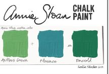 Paint color recipes and tutorials
