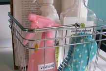 ~cleaning + organizing~ / by Nina Ridgeway