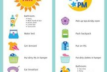 Visual Schedule For Babies / by Tabitha Corless