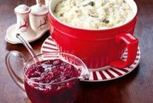 Thanksgiving Recipes / Happy Thanksgiving! From reliable side dishes such as Creamy Potato Gratin to cranberry classics such as Redder Than Red Cranberry Sauce, and not forgetting celebratory puddings such as Pecan-Plus Pie and the legendary Girdlebuster Pie! And we've also got ideas for using up your leftover turkey - Turkey And Glass Noodle Salad, anyone?