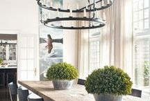 Dining Room Decor Ideas / French Country meets Tuscan themed decor. Looking to be inspired!