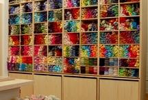 Yarn and fiber / Indie dyed yarn, crochet, knitting and other fiber yumminess! Handmade.