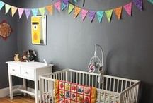 Nursery / Modern nursery designs and inspiration. Emphasis on handmade, neutrals and bright colors. / by FreshStitches