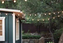 Outdoor Spaces / Beautiful Outdoor spaces. Ideas for decks, patios & outdoor entertaining. / by Jessica Numbers