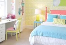 Interior Bliss: Girls Bedroom / by Antionette Morrow