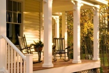 Homes with Porches / Dream On / by Linda Sizemore