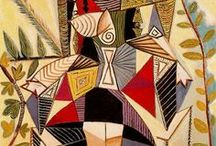 Art by Pablo picasso / pintor fabuloso / by Mary Luz Handler