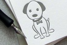 Puppy / Cute and adorable dogs.  Inspiration for crafts and home decor. Includes indie handmade makers.