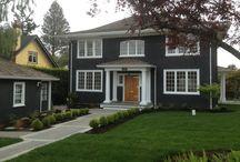 Exterior house colour to contrast with white windows / by Erandi Velarde
