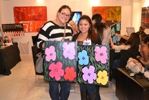SensatioNail Painting Lounge / New York City beauty bloggers joined SensatioNail for an evening of painting and chatting about the latest SensatioNail products. / by SensatioNail