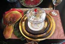 Holiday Table Settings / All kinds of table settings and arrangements for your holiday table that will bring cheer all season! / by Textures Flooring Nashville