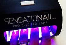 SensatioNail LED Lamp / Sealing in the color to a glossy, damage-proof, mirror-like finish! / by SensatioNail