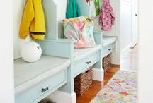 Mud Room / by Jessica Numbers