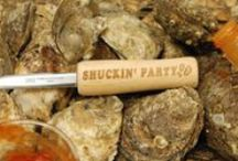 Engraved Oyster Knives / Fun pre printed Oyster knives or your own custom knife with your name or other fun sayings!