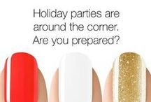 SensatioNail Holidays / SensatioNail gets ready to celebrate the holidays this year with holiday nail inspiration and designs. / by SensatioNail