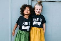 THREE LITTLE NUMBERS / Hip & Modern Screen Printed tees for your littles. Find more at www.shopthreelittlenumbers.com