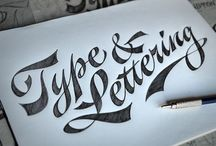 Lettering + Letterforms / Lettering is not fonts - examining hand-drawn & experimental letterforms.  / by John Corrigan