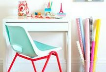 Kids Spaces / Ideas for Kids play rooms and creative spaces.  / by Jessica Numbers
