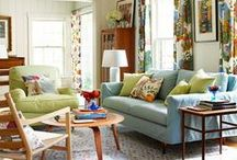 Interior Bliss: Living Room / by Antionette Morrow