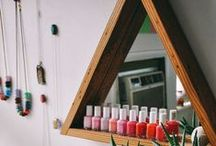 DIY Nail Organization / Creative DIY ways to organize your nail polish bottles! / by SensatioNail