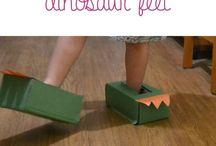 Toddler dinosaur theme