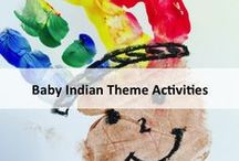 Toddler Indian theme / Indian theme activities for toddler