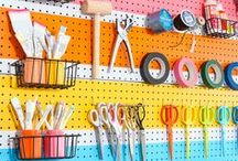 ORGANIZED / DISPLAYS / Creative ways to display the items in your life...