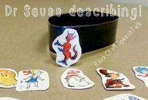 Speech Therapy- Dr Seuss / Speech therapy ideas for Dr. Seuss week