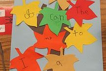 Speech Therapy- Fall Theme / Speech/language therapy ideas with a Fall theme