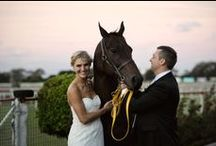 Weddings at the Brisbane Racing Club / The Brisbane Racing Club's historic Eagle Farm & Doomben Racecourses offer an enchanting and romantic background for your special day!