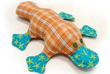 Free Toy Sewing Patterns  / by Calico Cottage Crafts