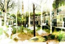 Landscape arch - Illustration/presentations