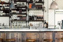 Restaurants, shops and bars