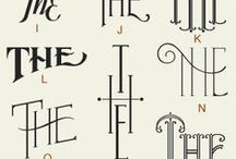 All About Typography / by Shelby Harris